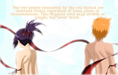 The Red String of Fate... by itanatsu-chan