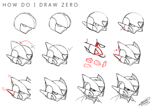 How Do I Draw Zero [Tutorial] by Tomycase