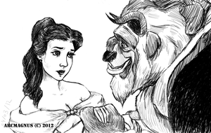 **Beauty and the Beast** by ArcMagnus
