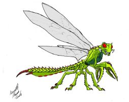 Dragonfly Monster by Dino-master