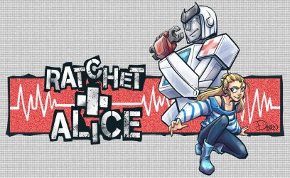 TF: Ratchet + Alice CMSSN by DoodleWEE