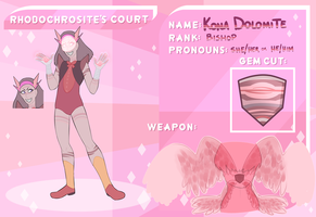 Rhodochrosite's Court: Kona Dolomite by machiavellical