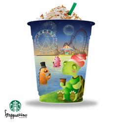 Starbuck Contest Happiness Cup by jmanggala