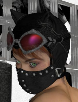 NS90 - Catwoman's new mask by MndlessEntertainment