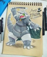 Aggron the Magician~