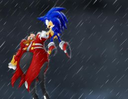 Sonic v Robotnik - Final Fight by CPC