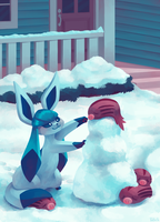 Eevee House - Glaceon