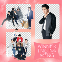 WINNER PNG Pack by exostangalaxy