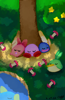 Kirby's Dream Zine Submission by CinnamonMuffins