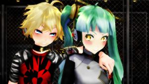 [MMD] C'mon Smile for Once. by CrazyImmor