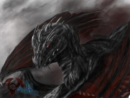 Black Dragon by OrmIrian