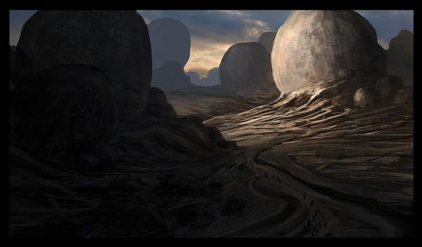 Mystic mountains by ArtistMEF