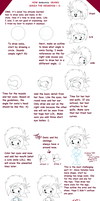 Tutorial How To Draw Sonia by Domestic-hedgehog