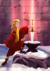 The Sword in the Stone by Mellodee