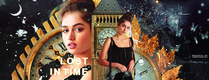 [ Wattpad Banner ] - Lost in Time by ineffablely