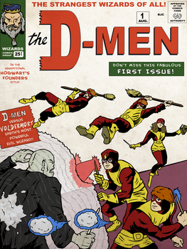 The D-Men - X-men+Harry Potter by KahunaBlair