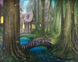 A-Walk-In-The-Forest by DirtNebula
