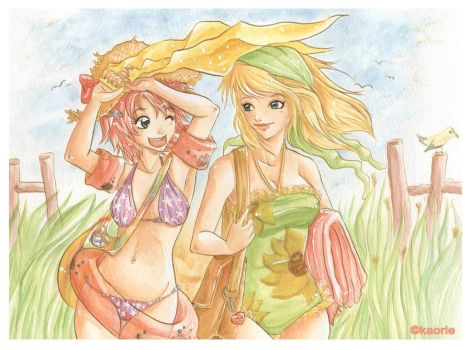our own little summer by ka0rie