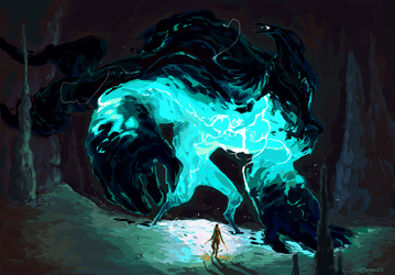 caverns by SilverMender
