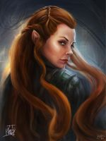 Tauriel by nma-art