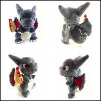 Chibi shiny charizard plush by LRK-Creations
