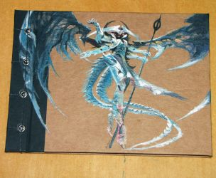 Atraxa, Praetors' Voice handmade notebook by Anterie