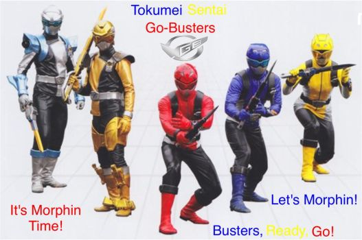 Tokumei Sentai Go-Busters by MitchThe1Soul