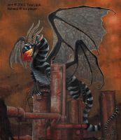 Rahmals Gas Works- dragon by jaxxblackfox