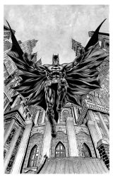 Batman - Gotham from the ground by IbraimRoberson