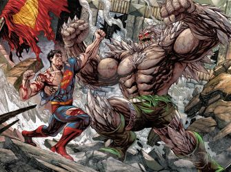 Superman vs Doomsday, Death of Superman by TylerKirkham