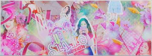 Purple Smile///Cover Scrapbook by Kazcucheo
