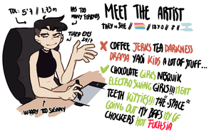Tsukibahara - Meet the artist! 2k17 by Tsukibahara