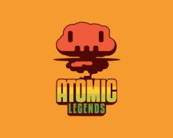 ATOMIC-LEGENDS-Logo by whitefoxdesigns