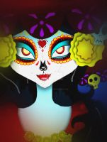 The Book of Life -La Muerte- by KiaraLPhoenix