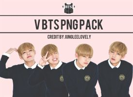 V BTS PNG PACK by JUNGLEELOVELY by Jungleelovely