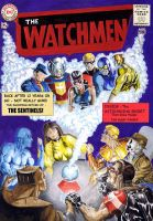 Watchmen JLA cover Homage by Nick-Perks