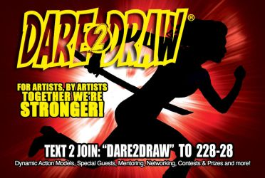 Dare2Draw Together we're Stronger! by Dare2Draw