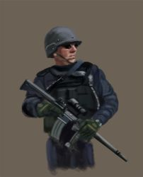 police by Warr3