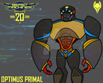 Transformers Beast Machines 20th | Optimus Primal! by SRGDuck