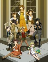 Love Hina: Chicago Style by ghostfire