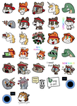 NinjaCat Telegram Sticker Pack by SilviShinyStar