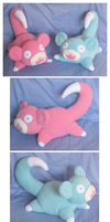 Slowpoke Plushies