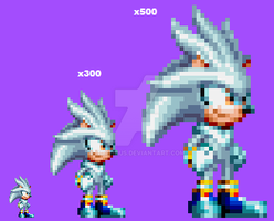 It's No Use! Silver the Hedgehog in Mania. by Hortinus