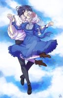 Howl's Moving Castle - Howl And Sophie by Roots-Love