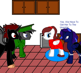 Comic: The Birth Page 22 by MLP-Black-Knight
