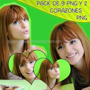 Pack PNG Bella Thorne 002 by AgusSensualEditions