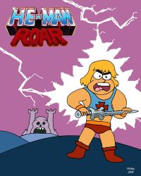Another Classic Reboot: He-Man Roar by GiantToby
