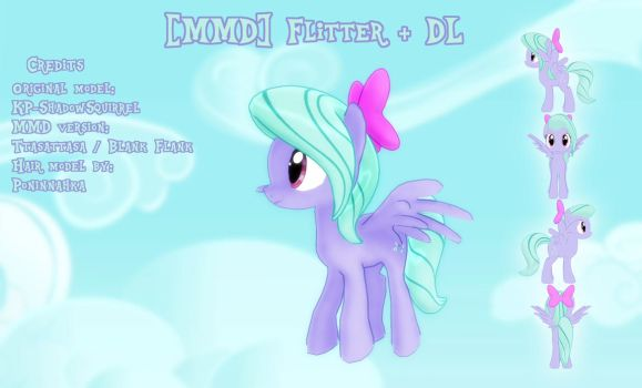 [MMD] Flitter + DL by Sparkiss-Pony