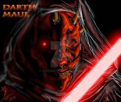 DARTH MAUL by ZUNDREK