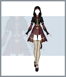 [Close] Adoptable Outfit Auction 164 by Kolmoys